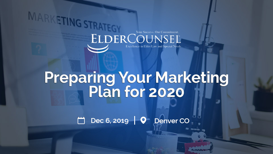 PREPARING YOUR MARKETING PLAN FOR 202
