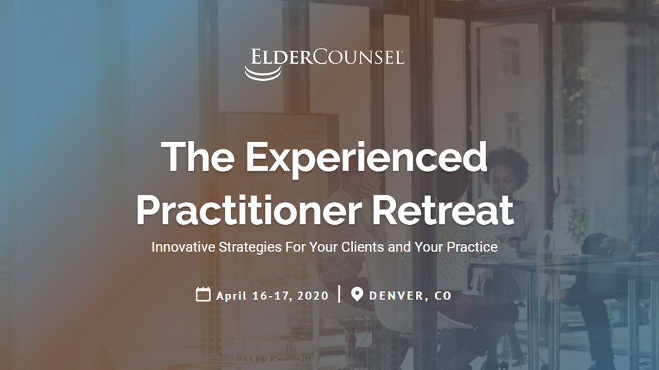 The Experienced Practitioner Retreat