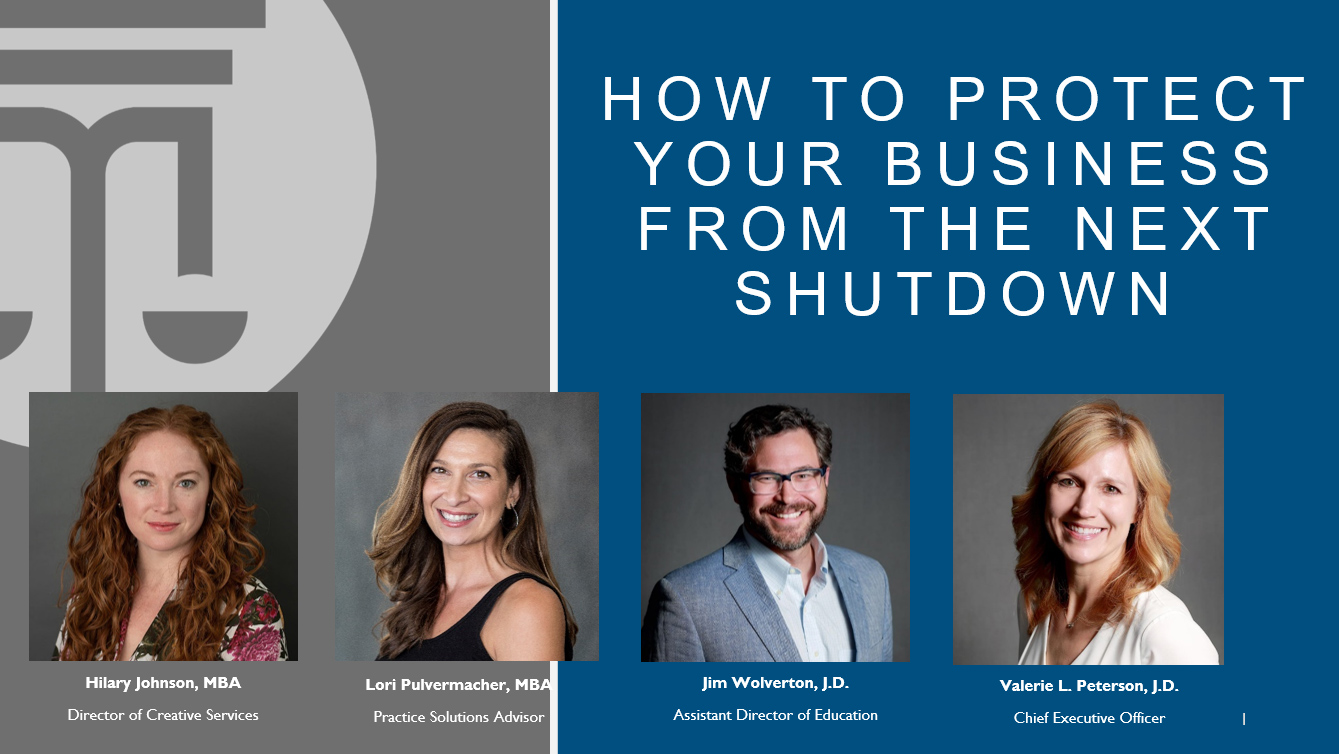 How to Protect Your Business from the Next Shutdown