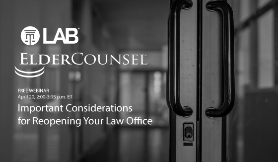 important considerations for reopening your law office