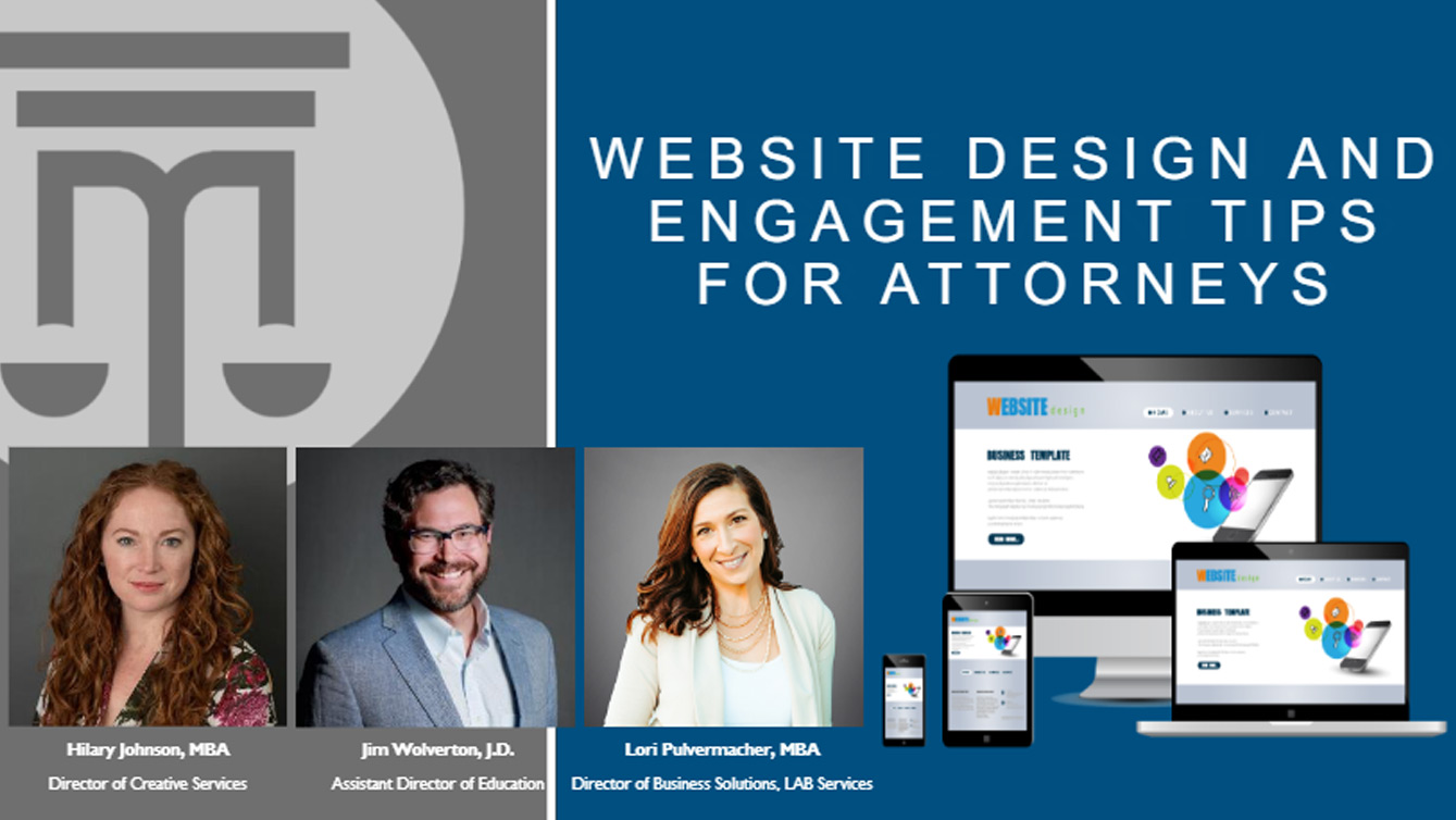 website design and engagement tips for attorneys