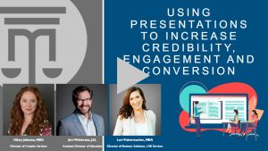 using presentations to increase credibility, engagement, and conversion